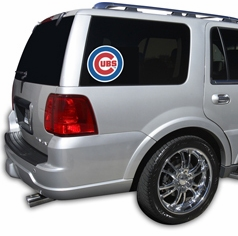 Chicago Cubs<br>Cutz Window Film<br>ONLY 1 LEFT!