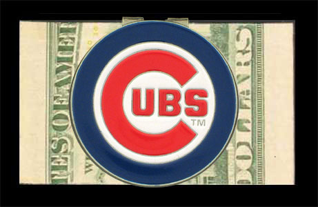 Chicago Cubs Logo Money Clip<br>ONLY 6 LEFT!