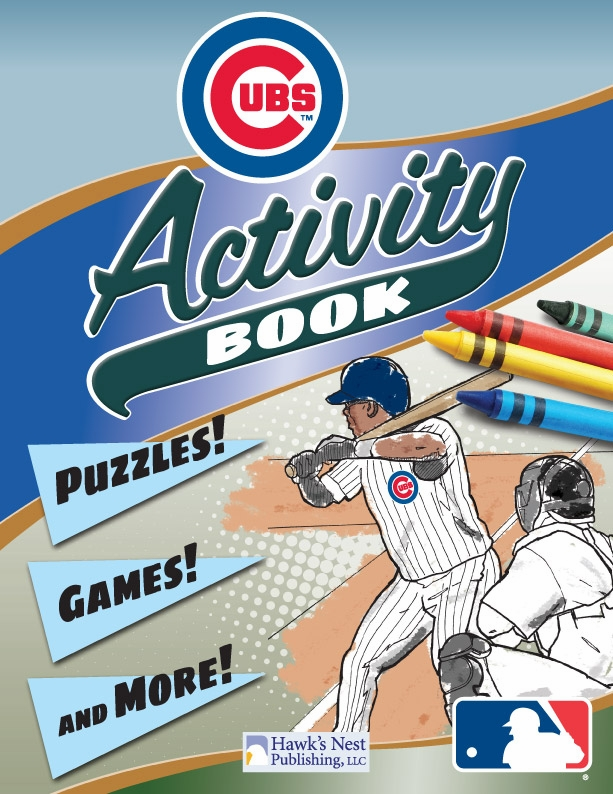 Chicago Cubs MLB Activity Book