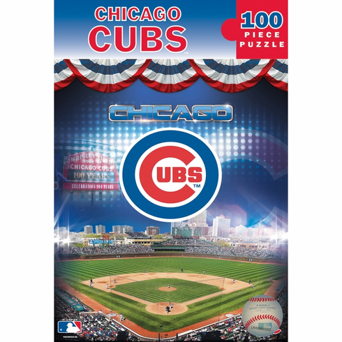 Chicago Cubs Wrigley Field 100pc Puzzle<br>LESS THAN 10 LEFT!
