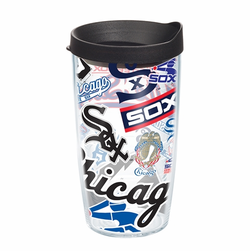 Chicago White Sox All Over Wrap Set of Cups with Lids by Tervis