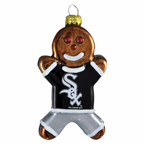 AFTER CHRISTMAS SALE!<br>Chicago White Sox Ginger Bread Man Ornament<br>ONLY 3 LEFT!
