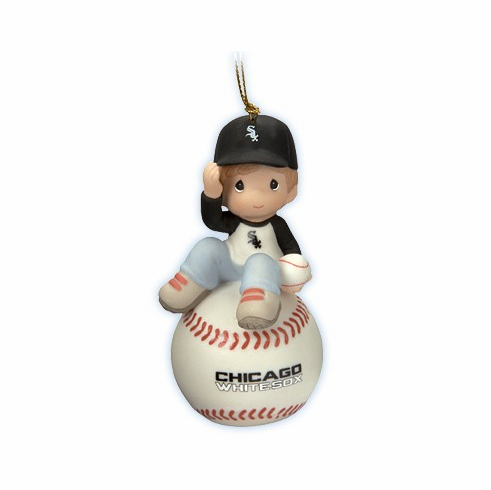 Chicago White Sox I Have A Ball With You Baseball Boy Retired Ornament by Precious Moments<br>ONLY 4 LEFT!