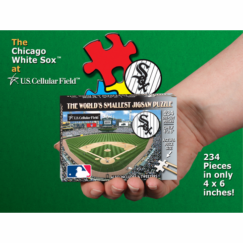 Chicago White Sox MLB World's Smallest Jigsaw Puzzle<br>ONLY 2 LEFT!