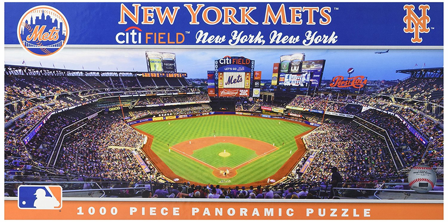 Citi Field New York Mets 1000pc Panoramic Puzzle<br>ONLY 6 LEFT!