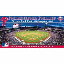 Citizens Bank Park Philadelphia Phillies 1000pc Panoramic Puzzle<br>ONLY 3 LEFT!