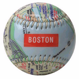 City Map Baseballs