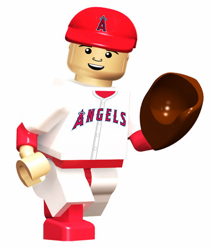 OYO SALE!<br>CJ Wilson LA Angels of Anaheim OYO Mini Figure<br>ONLY 1 LEFT!