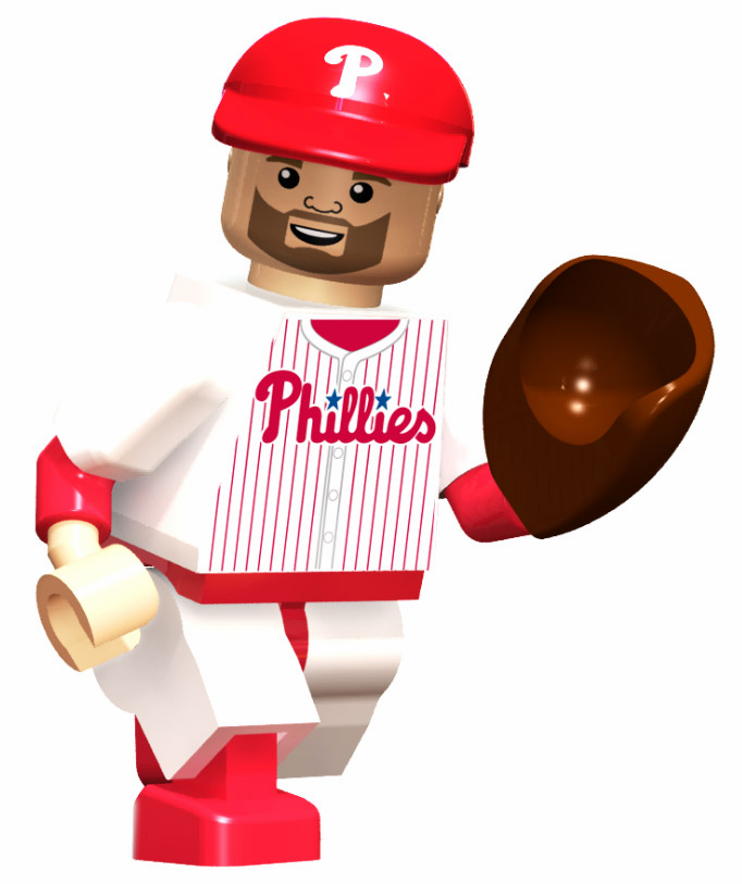 Cliff Lee Philadelphia Phillies OYO Mini Figure