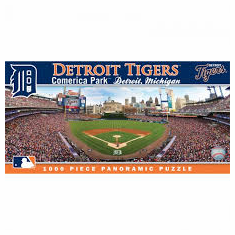Comerica Park Detroit Tigers 1000pc Panoramic Puzzle<br>ONLY 2 LEFT!
