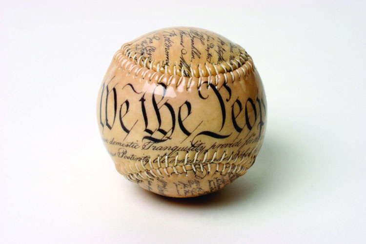 Constitution of the United States Baseball<br>PRE-ORDER FOR LATE-MAY DELIVERY!