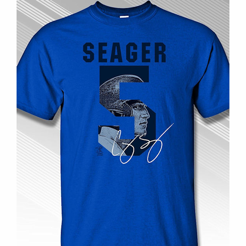 Corey Seager Los Angeles #5 T-Shirt<br>Short or Long Sleeve<br>Youth Med to Adult 4X