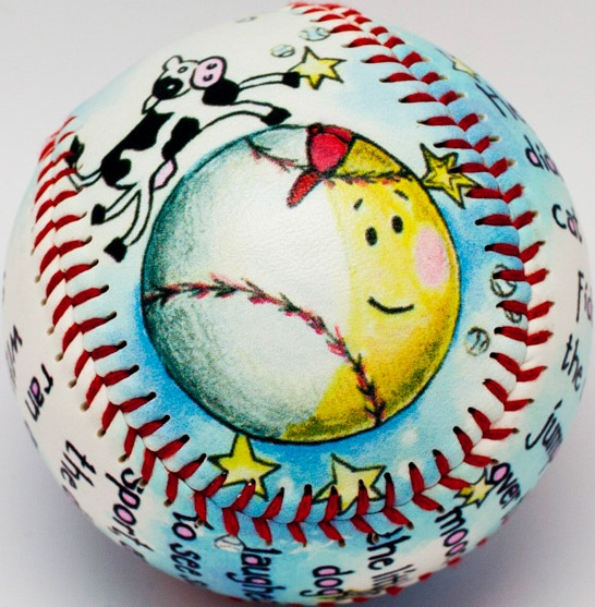 Cow Jumped Over the Moon Baseball