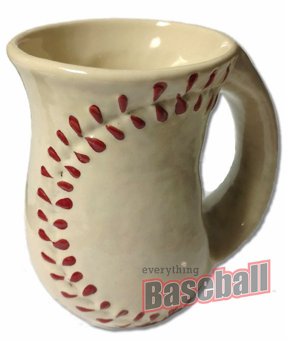 Cozy Hands Ceramic Baseball Mug