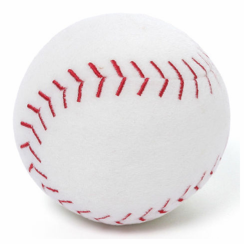 Crashing Noise Plush Baseball by Gund