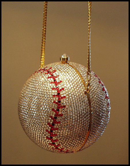 Crystal Baseball Purse / Handbag<br>LESS THAN 3 LEFT!