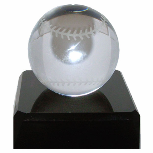 Crystal Baseball with Base<br>LESS THAN 10 LEFT!