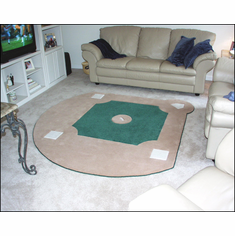 Custom Baseball Field RugbrBACK