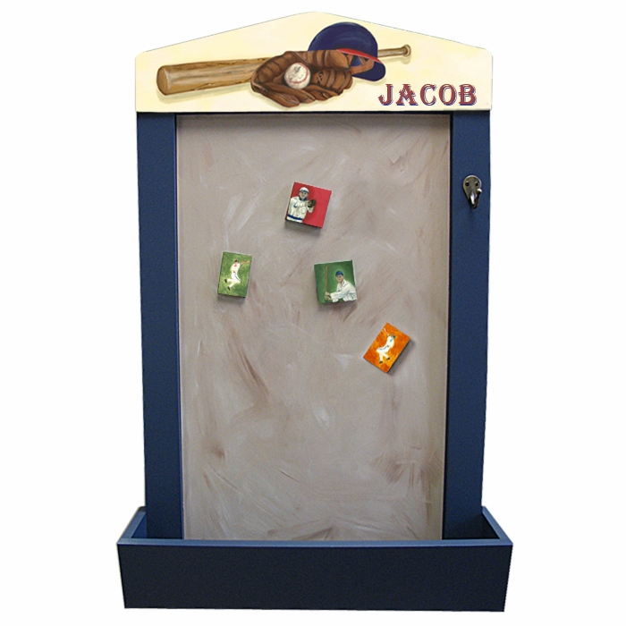Custom Baseball Magnetic Organizer