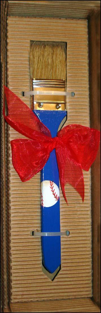 Custom Baseball Pastry Brush<br>ONLY 1 LEFT!