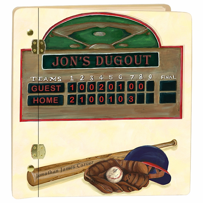 Custom Baseball Scoreboard Album