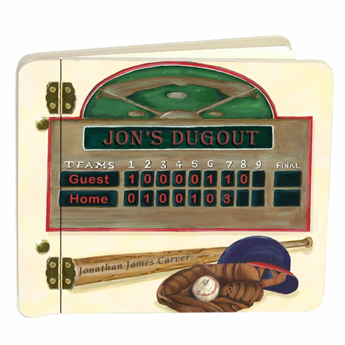 Custom Baseball Scoreboard Mini Album