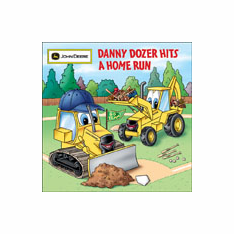Danny Dozer Hits a Home Run Book<br>ONLY 1 LEFT!