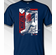 Dansby Swanson Atlanta Colorblock T-Shirt<br>Short or Long Sleeve<br>Youth Med to Adult 4X