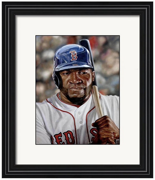 David Ortiz Framed Print<br>2 SIZES AVAILABLE!