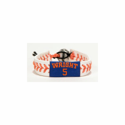 David Wright 5<br>Baseball Seam Bracelet