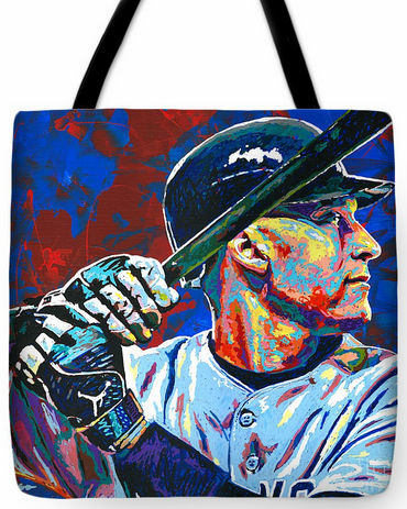 Derek Jeter New York Yankees Tote Bag<br>3 SIZES AVAILABLE!