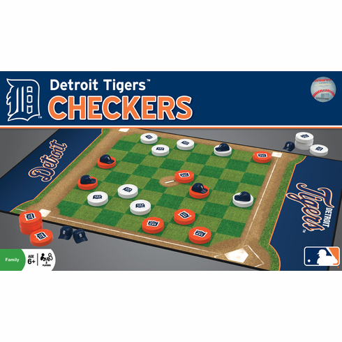 Detroit Tigers Checkers<br>ONLY 1 LEFT!