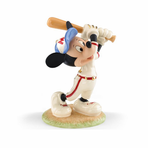 Disney's Mickey Up at Bat Figurine by Lenox<br>ONLY 1 LEFT!
