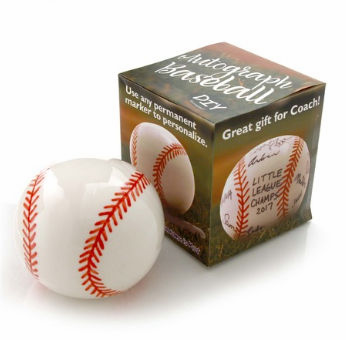 DIY Ceramic Signature / Autograph Baseball