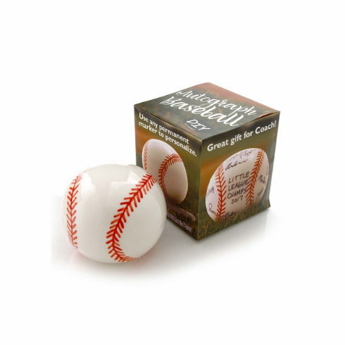 DIY Ceramic Signature / Autograph Baseball<br>SOLD OUT!