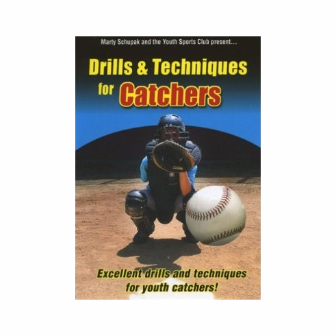Drills & Techniques for Catchers Baseball DVD