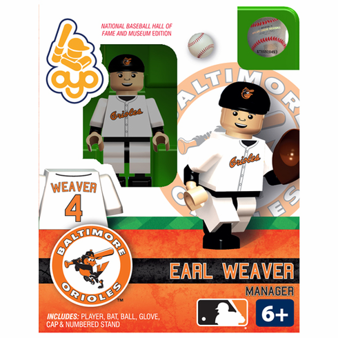 OYO SALE!<br>Earl Weaver Baltimore Orioles Hall of Fame OYO Mini Figure<br>ONLY 1 LEFT!