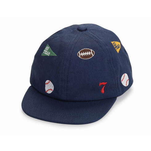 Embroidered Sports Baby Baseball Hat