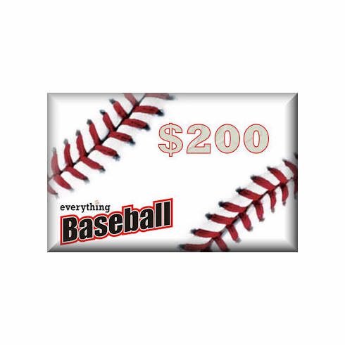 Everything Baseball<br>$200 Gift Card