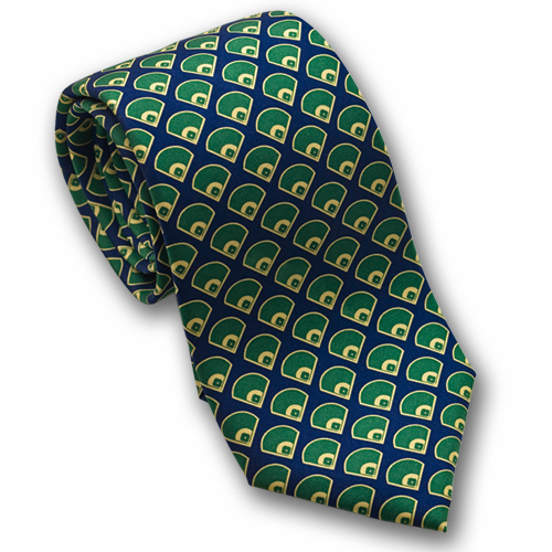 Fields Men's Silk Baseball Tie<br>ONLY 1 LEFT!