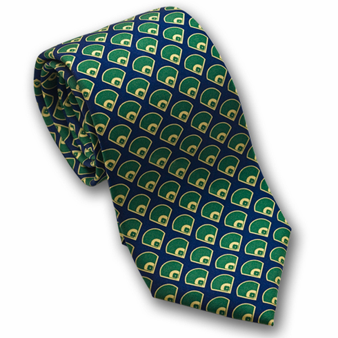 Fields Men's Silk Baseball Tie<br>ONLY 2 LEFT!