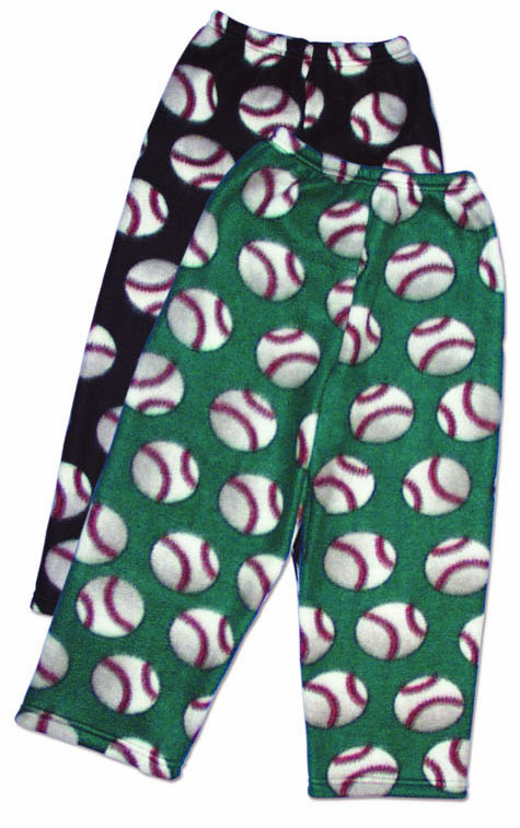 Fleece Baseball Youth Lounge Pants