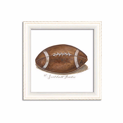 Football Art Framed Print