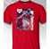 Francisco Lindor Cleveland Colorblock T-Shirt<br>Red or Navy Blue<br>Short or Long Sleeve<br>Youth Med to Adult 4X