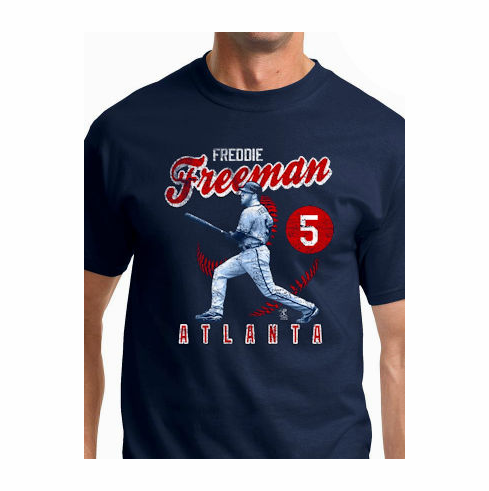 Freddie Freeman Vintage T-Shirt<br>Short or Long Sleeve<br>Youth Med to Adult 4X