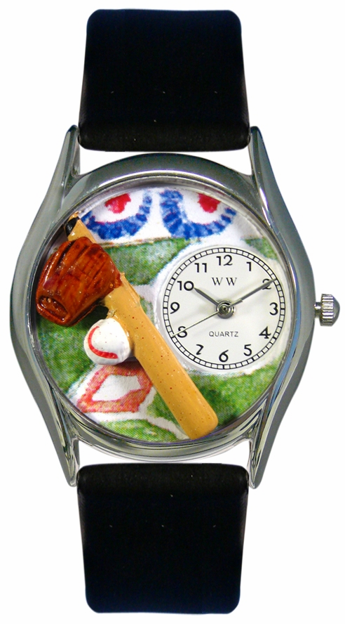 Fun Baseball Classic Silver Watch