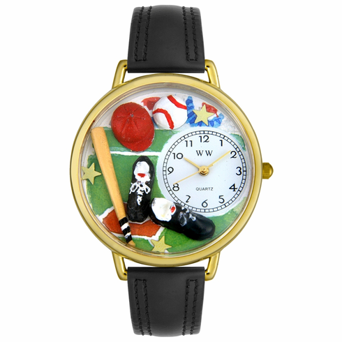 Fun Baseball Watch<br>Gold or Silver