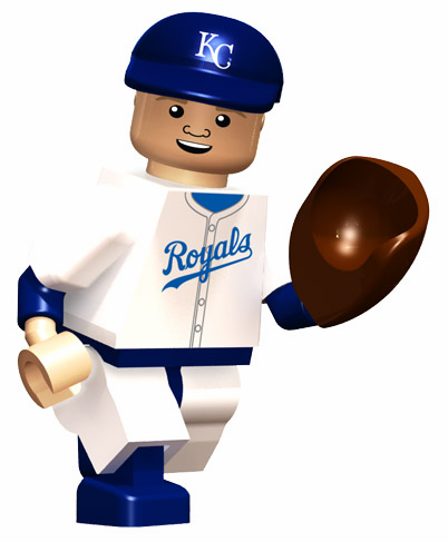 George Brett Kansas City Royals Hall of Fame OYO Mini Figure