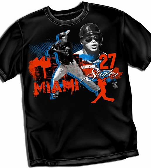 Giancarlo Stanton Big City T-Shirt<br>Short or Long Sleeve<br>Youth Med to Adult 4X