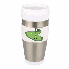 Golf 16oz Travel Mugs<br>ONLY 4 LEFT!